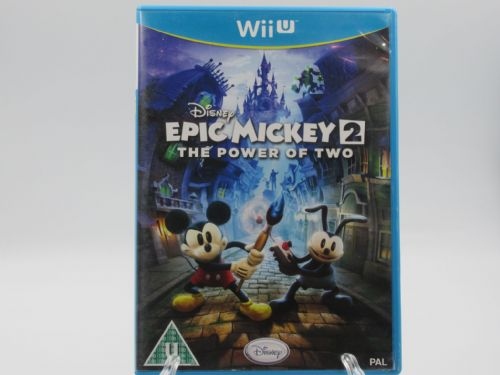 Epic Mickey 2 the Power of Two (Nintendo Wii U)